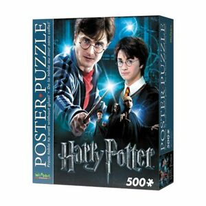 Harry Potter Poster 500pc Puzzle Snug Fit Foam Pieces - Hang on your Wall