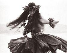 "Kim Taylor Reece ""Kika'eleke"" 11 X 14 Double Matted Hawaiian Hula Print - New"