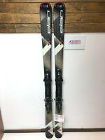 Elan Explore 76 160 cm Ski + BRAND NEW Salomon 10 Bindings Winter Sport Outdoor