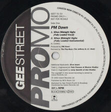PM Dawn - When Midnight Sighs, 12in PROMO, Playboys mixes inc Press Promo GEET51