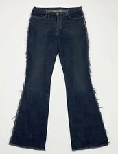 1ce65fe97845 Take two jeans flared usato donna zampa bootcut W33 tg 47 denim vintage  T5337
