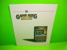 IGT Video Poker Original Coin-Op Casino Type Slot Machine FLYER Game King Model
