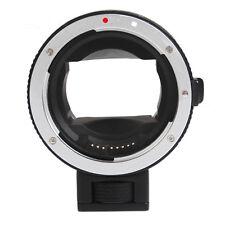 Auto Focus AF Canon EOS EF EF-S lens to Sony NEX A7 A7R NEX-6 E-Mount Adapter