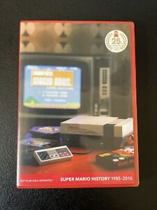 Super Mario History 1985-2010 Limited Audio CD 25th Anniversary With Booklet