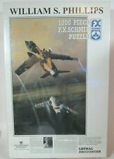 New ListingWilliam S. Phillips Lethal Encounter 1000 piece F.X. Schmid Puzzle New Sealed