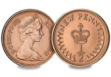 More details for 1/2 new penny 1971 rare coin.
