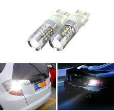 3157 3356 3457 80W LED Pure 6000K White LED Backup Reverse Light Lamps