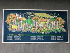 Widespread Panic Poster Fall Tour Print like spring emek chuck sperry spusta msg