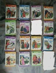 lotto 14 libri per ragazzi da collezione amz i birilli anni 60 e 70