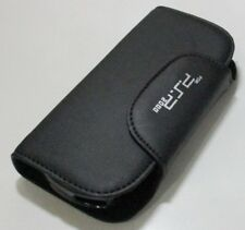 2 In 1 Leather Pouch With Crystal Case For Sony PSP 2000 3000