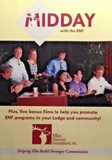 Midday with ENF Elks National Foundation DVD. Promote Elks in Lodge & Community