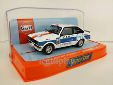 Slot Car Scalextric Superslot H4150 Ford Escort Mkii RS2000 Gulf Edition