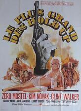 THE GREAT BANK ROBBERY - NOVAK / SEXY WOMAN / GUN - ORIGINAL MOVIE POSTER