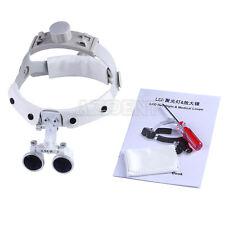 Headband 3.5 X Dental Surgical Medical Binocular Loupes Glasses Magnifier IT
