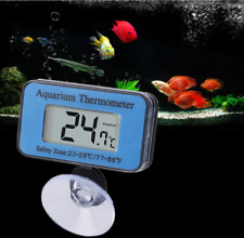 Digital Lcd Fish Aquarium Tank Temp Water MarineThermometer Temperature Meter