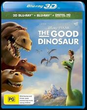 PG Rated The Good Dinosaur 3D DVDs & Blu-ray Discs