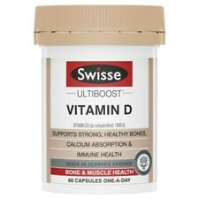 Swisse Ultiboost Vitamin D Capsules 60 pack
