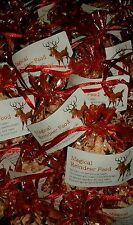 CHRISTMAS EVE MAGIC REINDEER FOOD IN RED & GOLD ORGANZA GIFT BAGS *CLEARANCE*