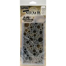 Stampers Anonymous Tim Holtz Bubbles Layering Stencil THS138