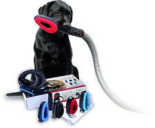 COFIX Dog Pet Grooming Brush w Vacuum Cleaner Adapter & Extension Pipe, Groomer