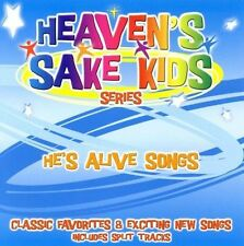 FREE US SHIP. on ANY 2 CDs! NEW CD Heaven's Sake Kids: He's Alive Songs