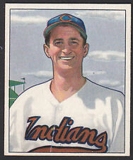 1950 Bowman #132 James Mickey Vernon Cleveland Indians baseball card