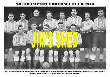 SOUTHAMPTON F.C.TEAM PRINT 1948 (RAMSEY/WAYMAN/GRANT)