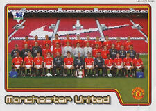 N°352 TEAM EQUIPE MANCHESTER UNITED STICKER MERLIN PREMIER LEAGUE 2005
