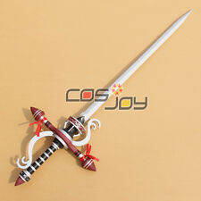 Monster Hunter Replica Color Silver  PVC Cosplay Prop