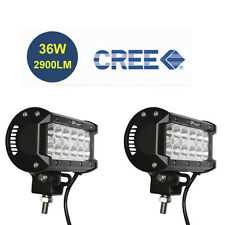 2X 6.5inch Off Road 36W CREE LED Fog Lamp Work Light Bar SUV Jeep 4WD DRL Flood*