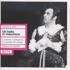 Verdi / Gencer / Bergonzi / Lazzarini / Fabritis - Un Ballo in Maschera [New CD]