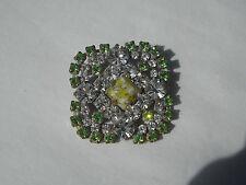 Czech Glass Rhinestones Button, Dazzle & Bling! Item 206