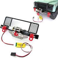 1:12 Metall Stoßstange Winde Seilwinde Control Wire für MN D90 D91 D99S RC Auto