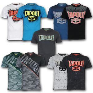 »RESTPOSTEN« TAPOUT T-Shirt Shirt TShirt MMA Mixed Marterial Arts S M L XL XXL