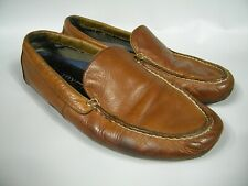 Sperry Top-Sider Driving Shoes Mens Sz 12M Dark Tan Leather Loafers EUC 316195