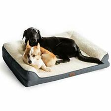 New listing Bedsure Orthopedic Memory Foam Large Dog Bed - Dog Sofa with Removable Washable
