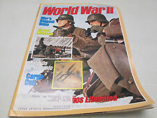 World War II 2 Magazine May 1989 Raid On Taranto Moscow Cargo Cult Big Guns