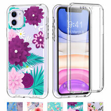 Transparent Screen Protector Full Shockproof Case Cover For Apple iPhone 11 XR