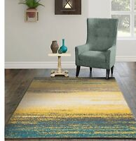 Modern Area Rugs for Living Room/ Dining Room 8x10 Indoor/Outdoor Patio Carpet