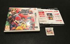 Super Smash Bros Nintendo 3DS DS PAL ESPAÑOL