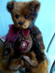 BEAUTIFUL LARGE SOFT & FLUFFY CHARLIE BEARS TEDDY~ STORYTELLER~ WITH ID TAGS