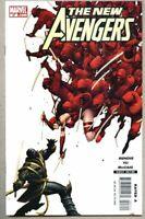 New Avengers #27-2006 nm 9.4 1st app of Hawkeye as Ronin Standard Cover