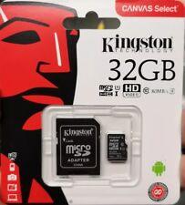 Kingston 32 GB Micro SD Karte (class 10 - 80 mb /s) NEUWARE