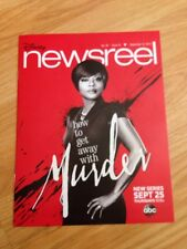 Newsreel Disney How to get away with Murder September 12, 2014 Vol 44 Issue 15