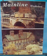 HO,S,N,O SCALE MAINLINE MODELER MAGAZINE MARCH 1994 TABLE OF CONTENTS PICTURED