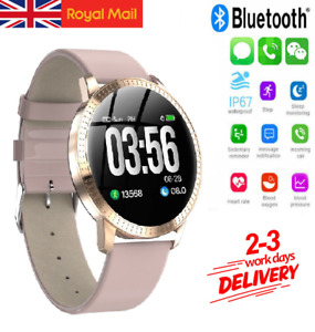 Waterproof Smart Watch Bluetooth Heart Rate For iPhone Samsung Fitness Tracker