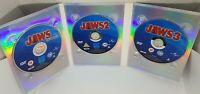 Jaws 3 Disc Anthology Dvd Box Set