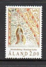 ALAND MNH 1990 SG45 ST CATHERINE FRESCO - ST ANNA'S CHURCH