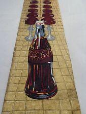 COCA COLA MENS TIE BAR STOOLS AND CLOCK 58.5 x 3.85