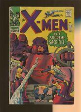 X-Men 16 GD/VG 3.0 * 1 Book Lot * Death of Bolivar Trask! Stan Lee! Jack Kirby